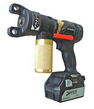 充電式油圧ポンプ